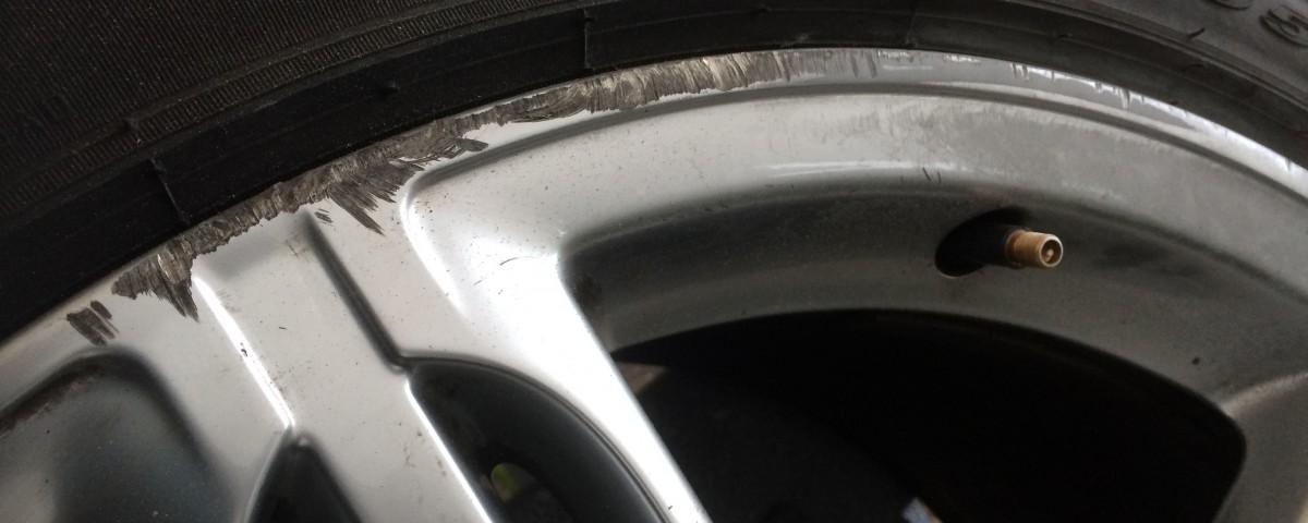 Audi Q7 Alloy wheel repair Peterborough