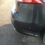 repaired bumper damage in Peterborough