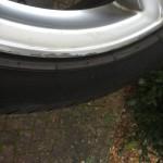 Audi Q7 Alloy Wheel damage