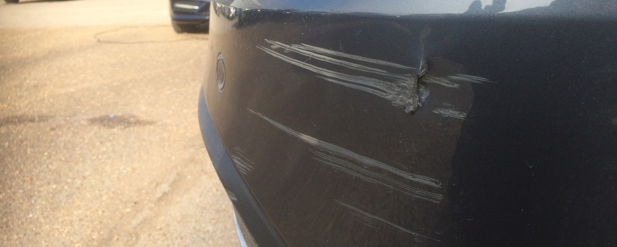 bumper damage in peterborough