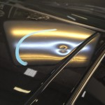 BMW 1 Series dent and peeling paint on arrival