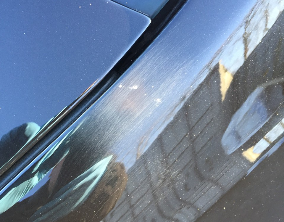 2016 Mercedes C Class Chip and Scratch Damage