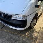 Camper van bumper repair